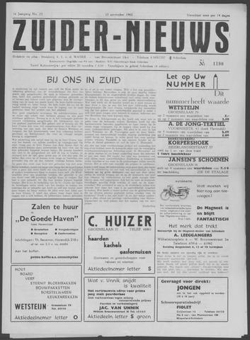 Zuider Nieuws 1962-11-15