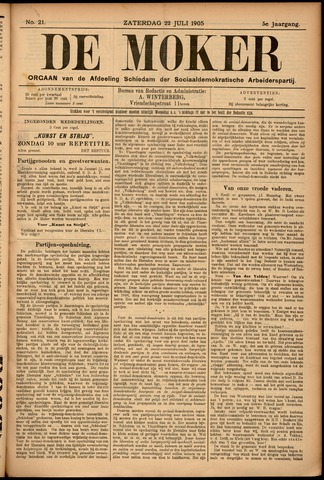 De Moker 1905-07-22