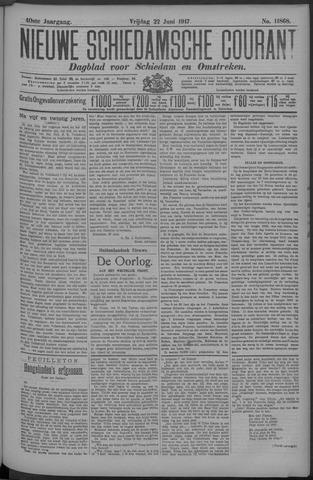 Nieuwe Schiedamsche Courant 1917-06-22