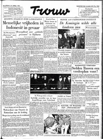 Trouw / De Rotterdammer 1956-04-23