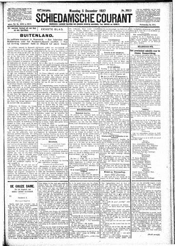Schiedamsche Courant 1927-12-05