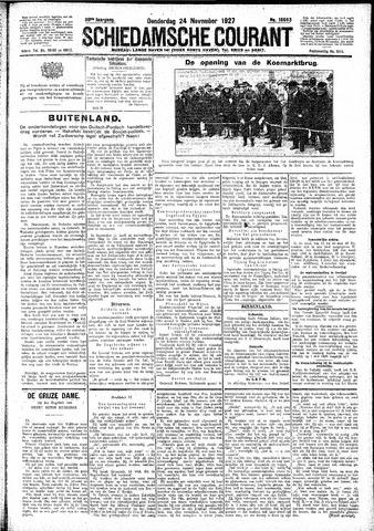 Schiedamsche Courant 1927-11-24