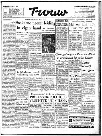Trouw / De Rotterdammer 1959-07-01