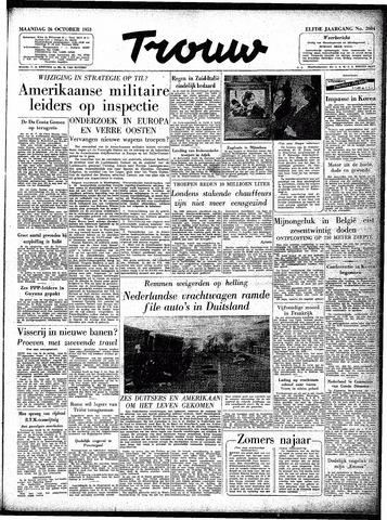 Trouw / De Rotterdammer 1953-10-26
