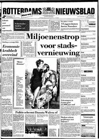 Rotterdamsch Nieuwsblad / Schiedamsche Courant / Rotterdams Dagblad / Waterweg / Algemeen Dagblad 1983-12-13