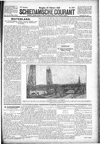 Schiedamsche Courant 1929-02-25