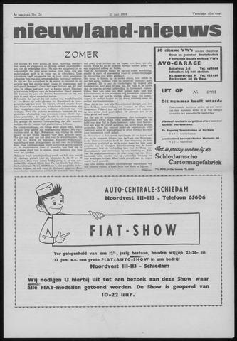 Nieuwland Nieuws 1964-06-25