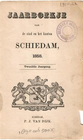 Schiedams Jaarboek 1858-01-01