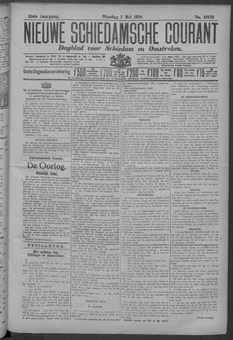 Nieuwe Schiedamsche Courant 1918-05-07