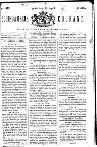 Schiedamsche Courant 1879-04-24