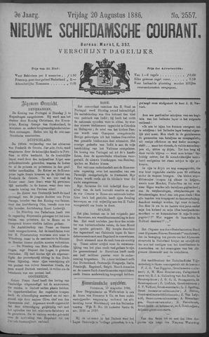 Nieuwe Schiedamsche Courant 1886-08-20