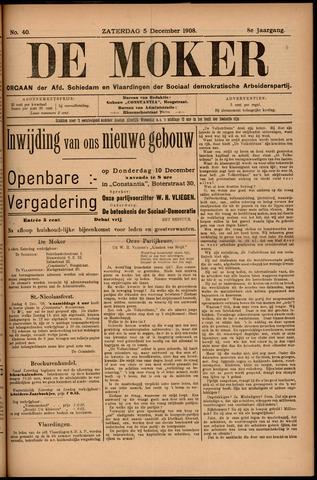 De Moker 1908-12-05