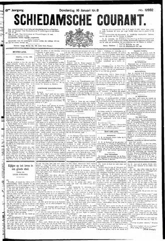 Schiedamsche Courant 1908-01-16