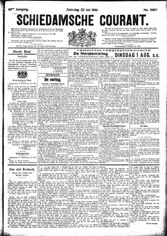 Schiedamsche Courant 1916-07-22