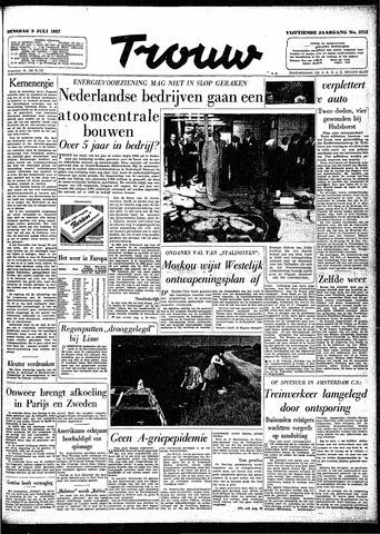 Trouw / De Rotterdammer 1957-07-09