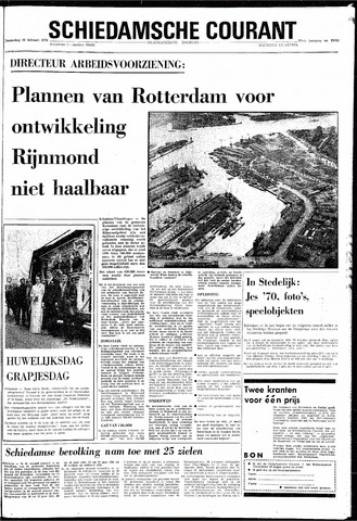 Rotterdamsch Nieuwsblad / Schiedamsche Courant / Rotterdams Dagblad / Waterweg / Algemeen Dagblad 1970-02-26