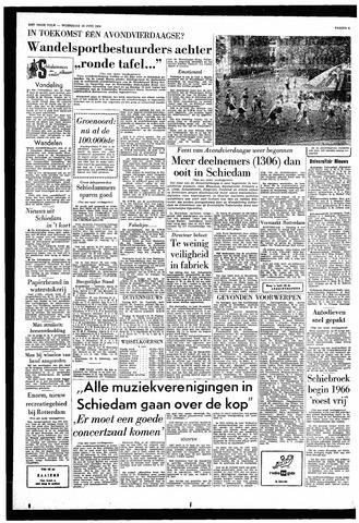 Ronde Tafel Schiedam.Het Vrije Volk 10 Juni 1964 Pagina 2 Gemeentearchief