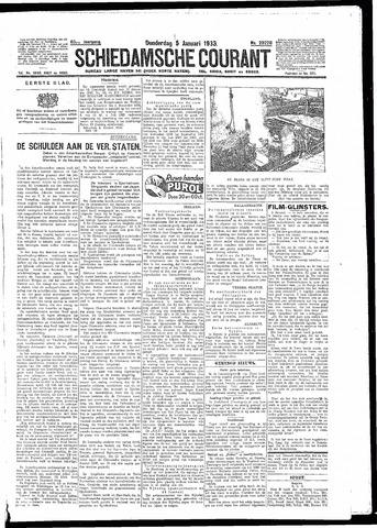 Schiedamsche Courant 1933-01-05