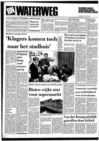 Rotterdamsch Nieuwsblad / Schiedamsche Courant / Rotterdams Dagblad / Waterweg / Algemeen Dagblad 1985-01-30
