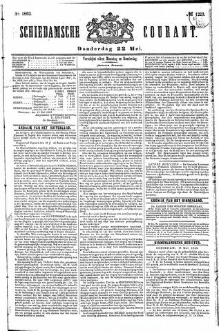 Schiedamsche Courant 1862-05-22