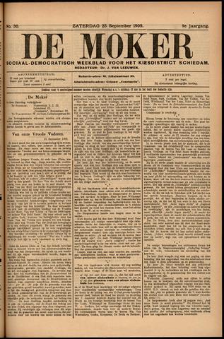 De Moker 1909-09-25