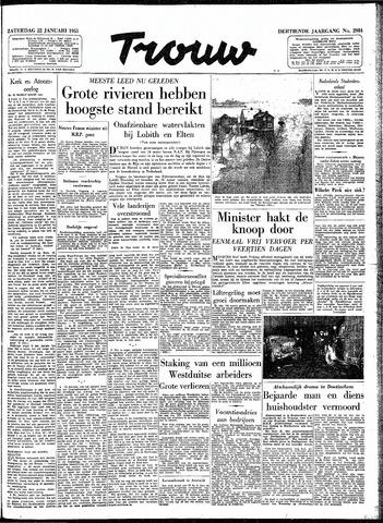 Trouw / De Rotterdammer 1955-01-22