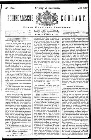 Schiedamsche Courant 1877-12-21