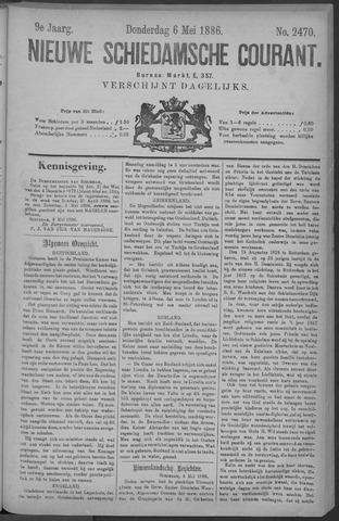 Nieuwe Schiedamsche Courant 1886-05-06