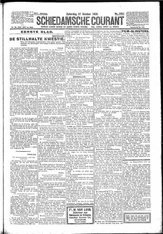 Schiedamsche Courant 1931-10-31