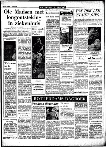 Rotterdamsch Parool / De Schiedammer 1966-10-04