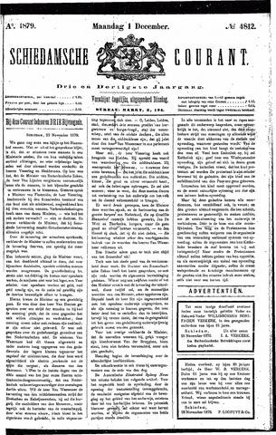 Schiedamsche Courant 1879-12-01