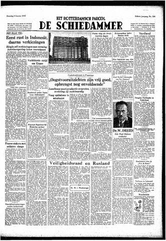Rotterdamsch Parool / De Schiedammer 1948-10-09