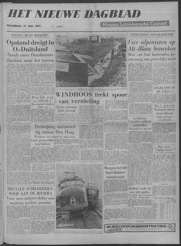 Nieuwe Schiedamsche Courant 1961-07-17