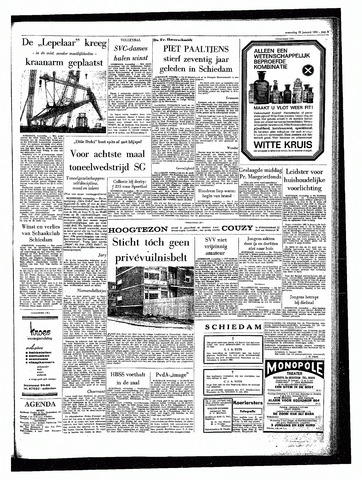 Rotterdamsch Parool / De Schiedammer 1964-01-22