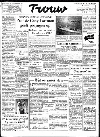 Trouw / De Rotterdammer 1956-09-15