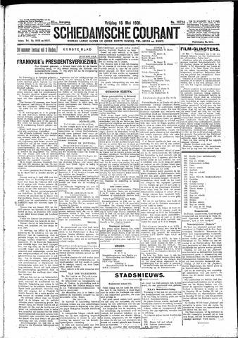 Schiedamsche Courant 1931-05-15