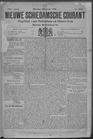 Nieuwe Schiedamsche Courant 1901-01-01