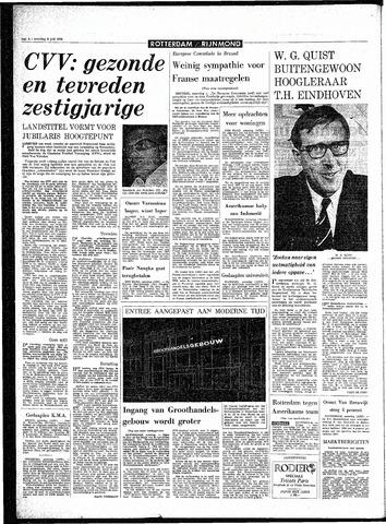 Rotterdamsch Parool / De Schiedammer 1968-07-06