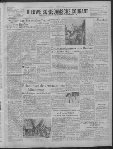 Nieuwe Schiedamsche Courant 1949-02-01