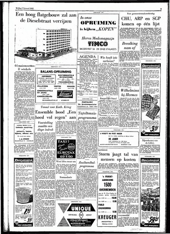 Rotterdamsch Parool / De Schiedammer 1962-01-12