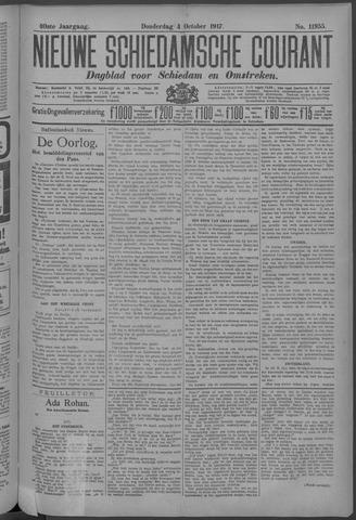 Nieuwe Schiedamsche Courant 1917-10-04