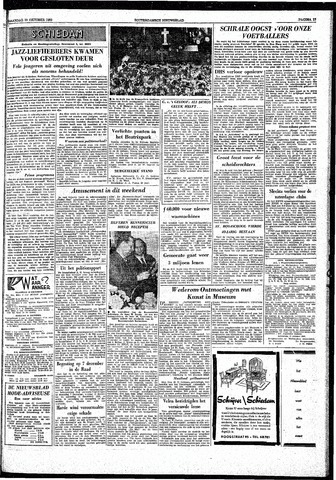 Rotterdamsch Nieuwsblad / Schiedamsche Courant / Rotterdams Dagblad / Waterweg / Algemeen Dagblad 1959-10-19