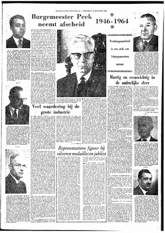 Rotterdamsch Nieuwsblad / Schiedamsche Courant / Rotterdams Dagblad / Waterweg / Algemeen Dagblad 1964-12-23