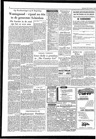 Rotterdamsch Parool / De Schiedammer 1955-11-26