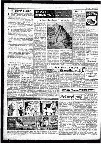 Rotterdamsch Parool / De Schiedammer 1957-08-17