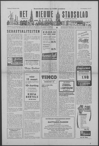 Het Nieuwe Stadsblad 1959-02-27