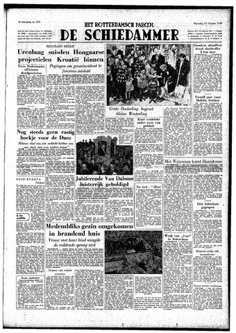 Rotterdamsch Parool / De Schiedammer 1949-10-31