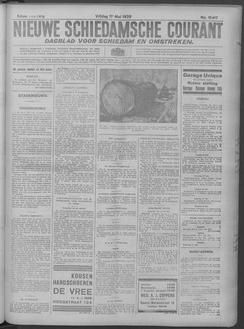 Nieuwe Schiedamsche Courant 1929-05-17