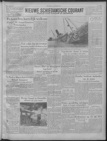 Nieuwe Schiedamsche Courant 1949-10-24