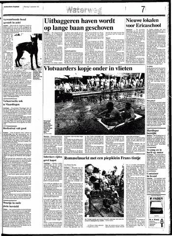 Rotterdamsch Nieuwsblad / Schiedamsche Courant / Rotterdams Dagblad / Waterweg / Algemeen Dagblad 1991-09-02
